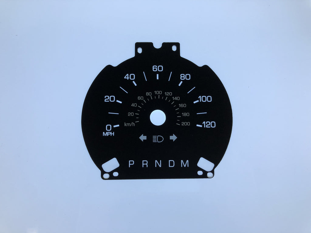 2016 Lincoln Navigator MPH Conversion Gauge Face