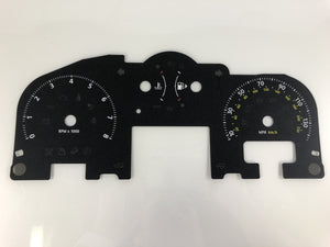 2007 Range Rover HSE MPH Conversion Gauge Face