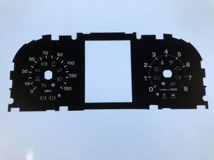 2012-2014 Range Rover Evoke MPH Conversion Gauge Face