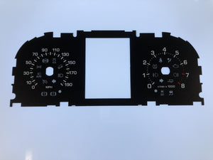 2015-2016 Range Rover Gas MPH Conversion Gauge Face