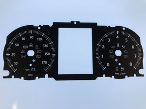 2016 Range Rover Gas MPH Conversion Gauge Face