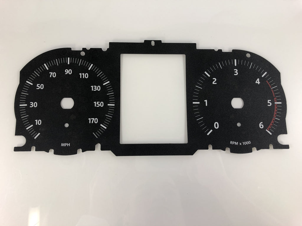 2016 Range Rover Diesel MPH Conversion Gauge Face