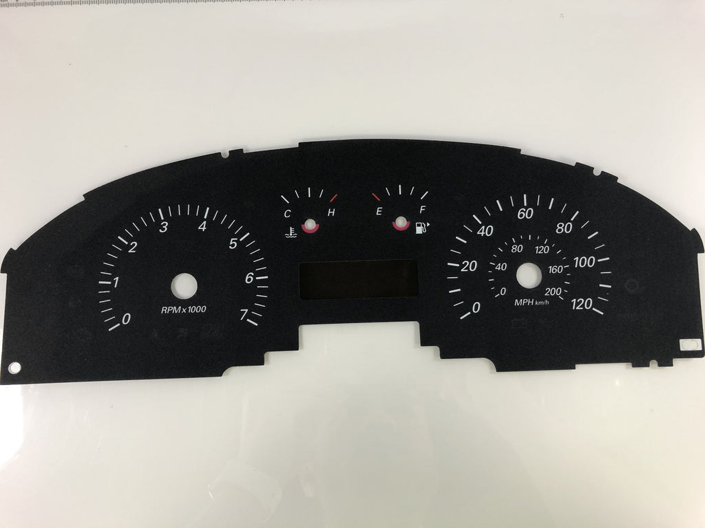 2004-2006 Ford Taurus MPH Conversion Gauge Face