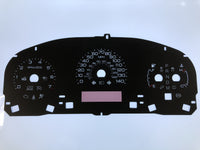2010-2012 Lincoln MKS/Ford Taurus MPH Conversion Gauge Face