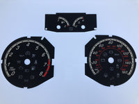 2013-2015 Ford Focus MPH Conversion Gauge Face
