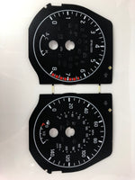2017-2018 Nissan Titan MPH Conversion Gauge Face