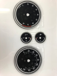2011 Buick Encore MPH Conversion Gauge Face
