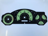2012 Toyota FJ MPH Conversion Gauge Face (Automatic)