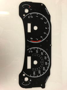 2009-2011 Toyota Corolla MPH Conversion Gauge Face