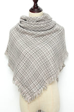 Load image into Gallery viewer, Beige Square Scarf by Just Cozy.