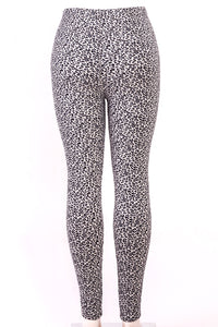 Fur-lined leggings with 4 way stretch by Just Cozy.