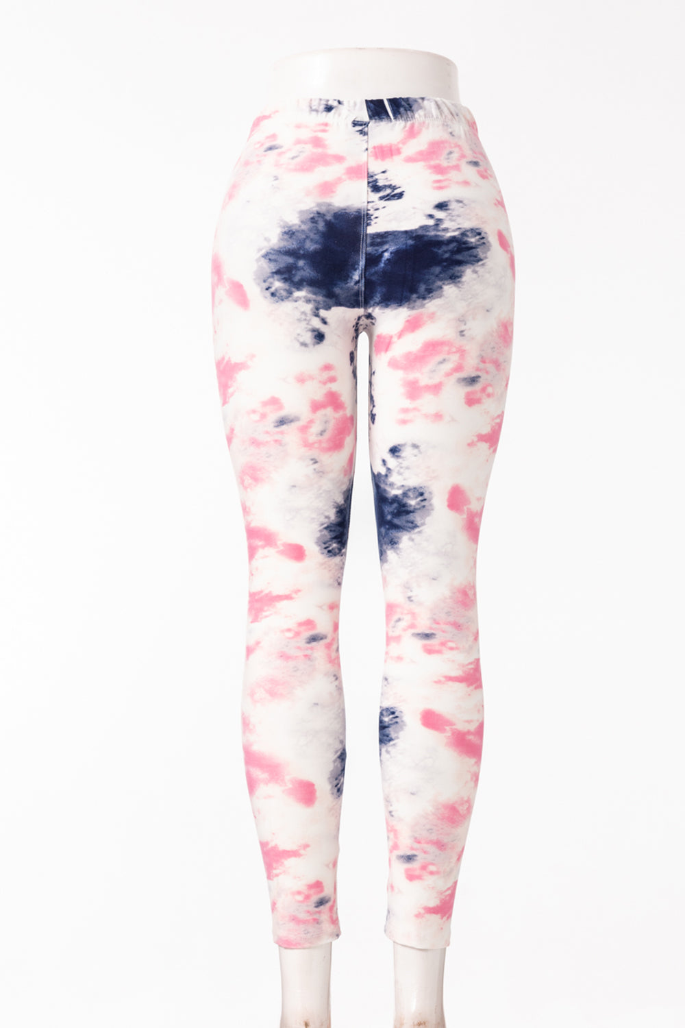 Skull Print Fur-lined leggings with 4 way stretch by Just Cozy.