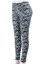Load image into Gallery viewer, Skull Fever - Fur Lined Leggings
