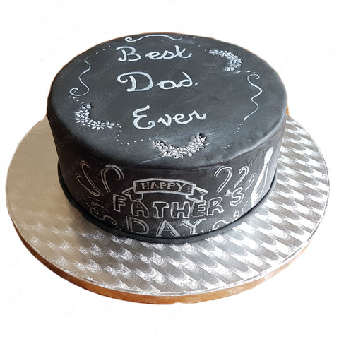 Best Dad Blackboard Cake - Cakesburg
