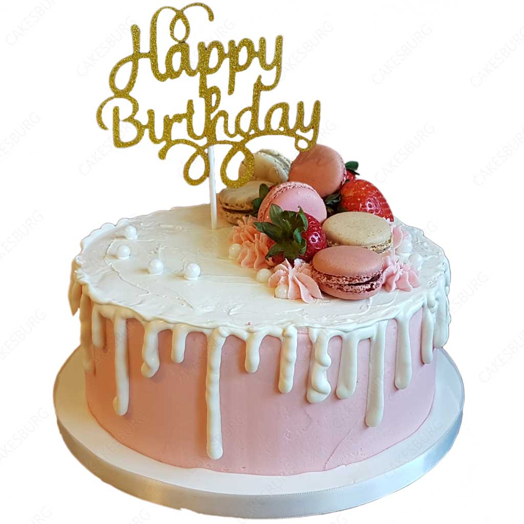 Peachy Happy Birthday Message Cake Cakesburg Online Premium Cake Shop Funny Birthday Cards Online Fluifree Goldxyz