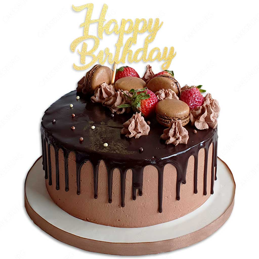 Remarkable Happy Birthday Message Cake 2 Cakesburg Online Premium Cake Shop Funny Birthday Cards Online Fluifree Goldxyz