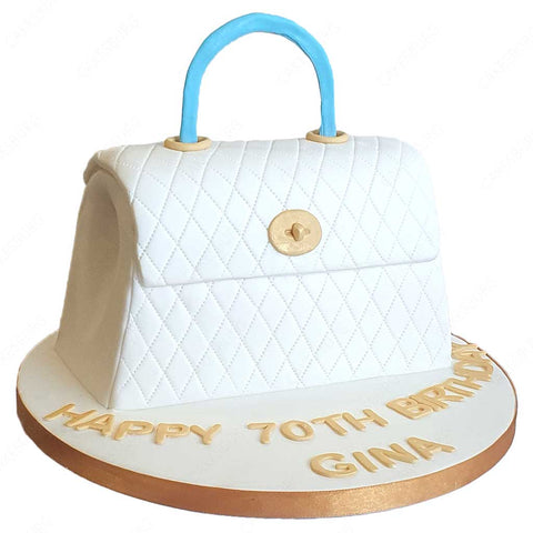 Luxury Handbag Cake