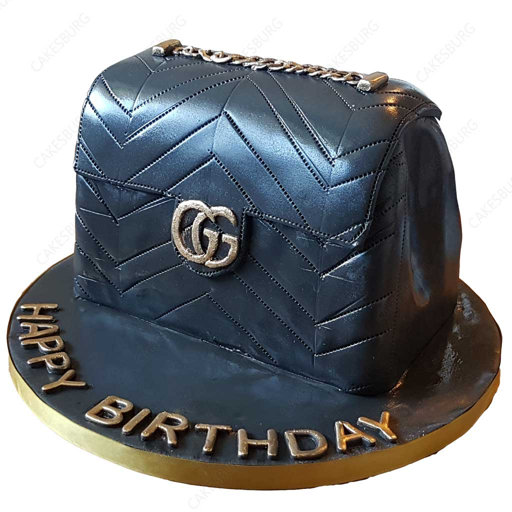 Luxury Gucci Handbag Cake