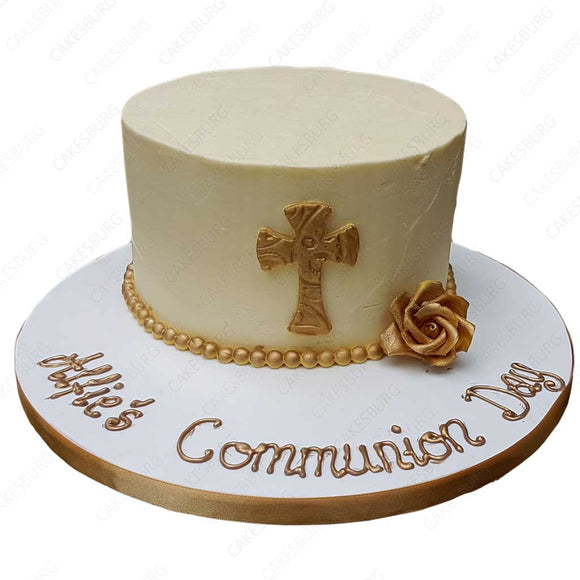 Christening / Communion Cake #3