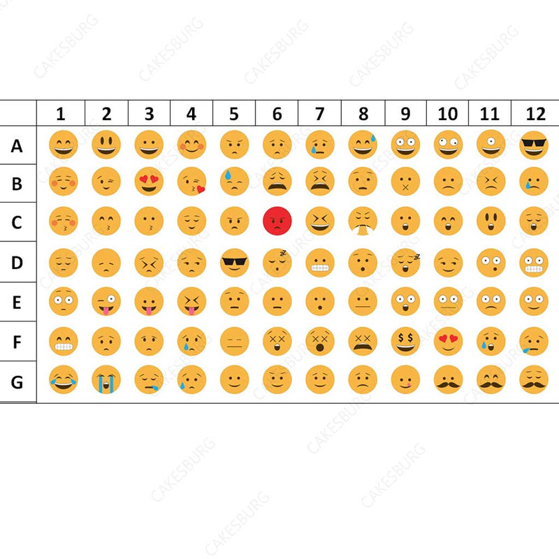 select your emoji cake