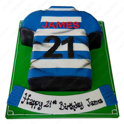 Football Uniform Cake #4
