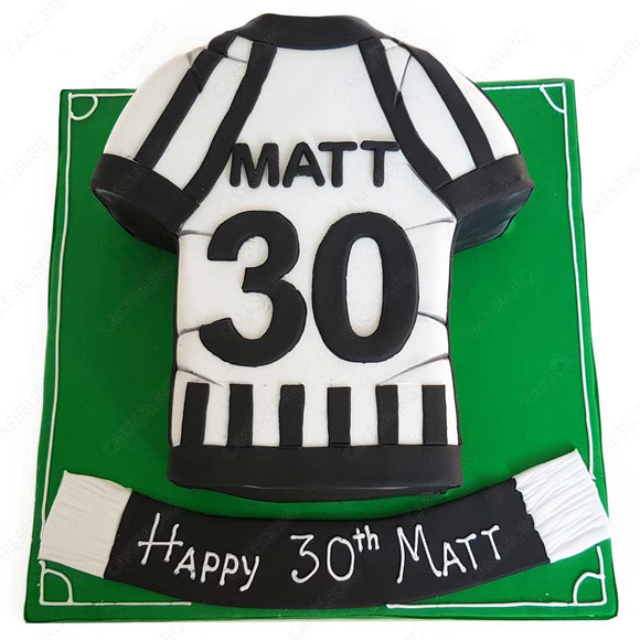 Football Uniform Cake #1