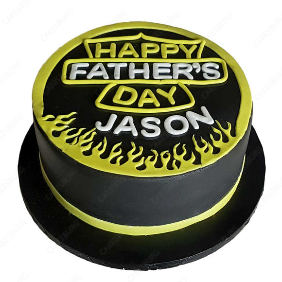 Harley Davidson Father's Day Cake