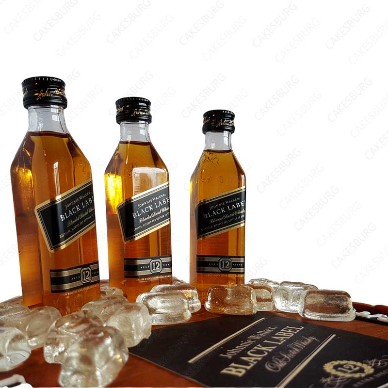 Johnie Walker Whiskey Cake
