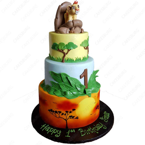 The Lion King - Kion Cake
