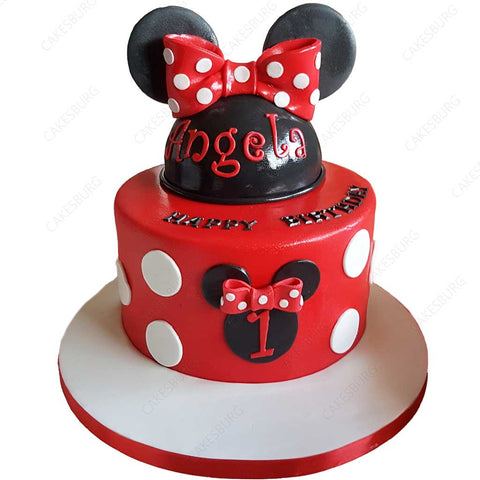 Minnie Mouse Cake #2