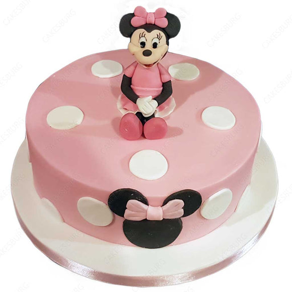 Minnie Mouse Cake #4