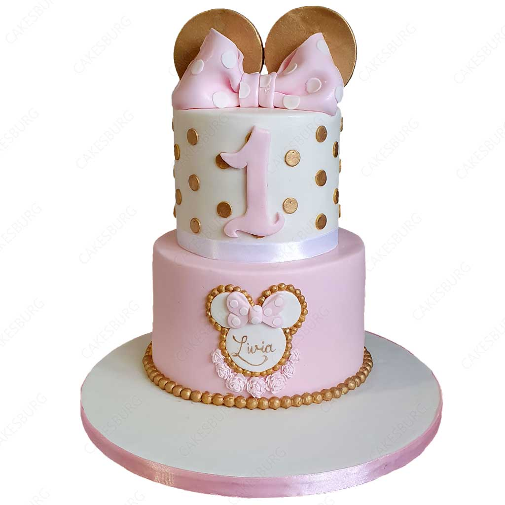 Pleasing Minnie Mouse Cake 5 Cakesburg Online Premium Cake Shop Funny Birthday Cards Online Alyptdamsfinfo