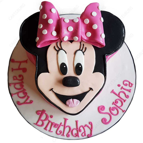 Minnie Mouse Cake #3