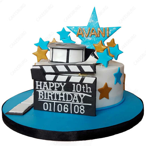Movie Star Cake #1