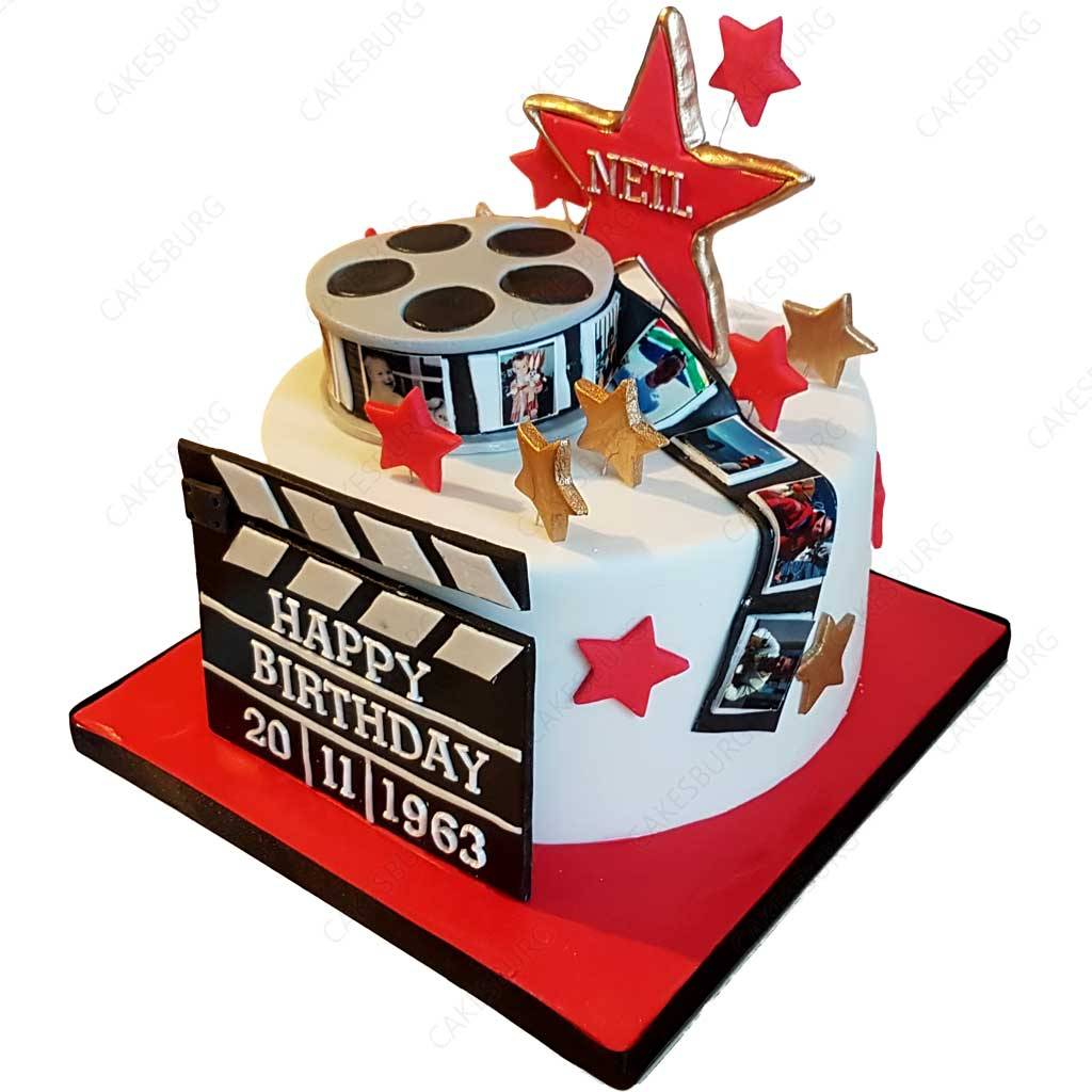 Swell Movie Star Cake 2 Cakesburg Online Premium Cake Shop Funny Birthday Cards Online Bapapcheapnameinfo