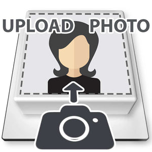 PERSONALISED PREMIUM PHOTO CAKE - SQUARE