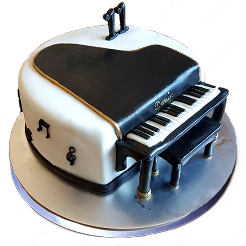 Acoustic Piano Cake