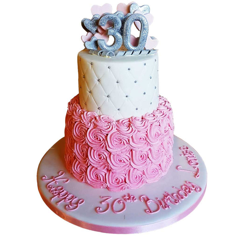 Rosa Special Age Cake - Pink