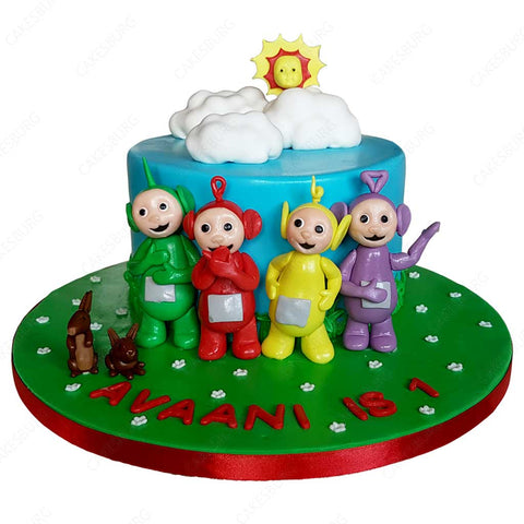 Tele Tubbies Cake #1