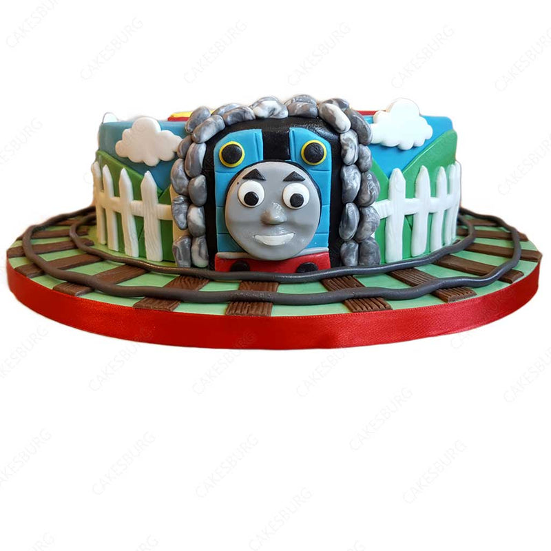 Thomas the Tank Engine Train Cake