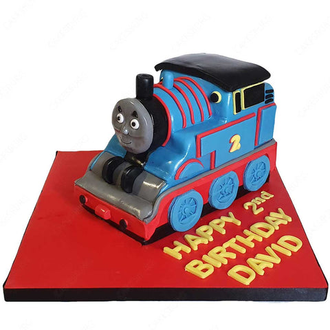 Thomas the Tank Engine Train Cake #2