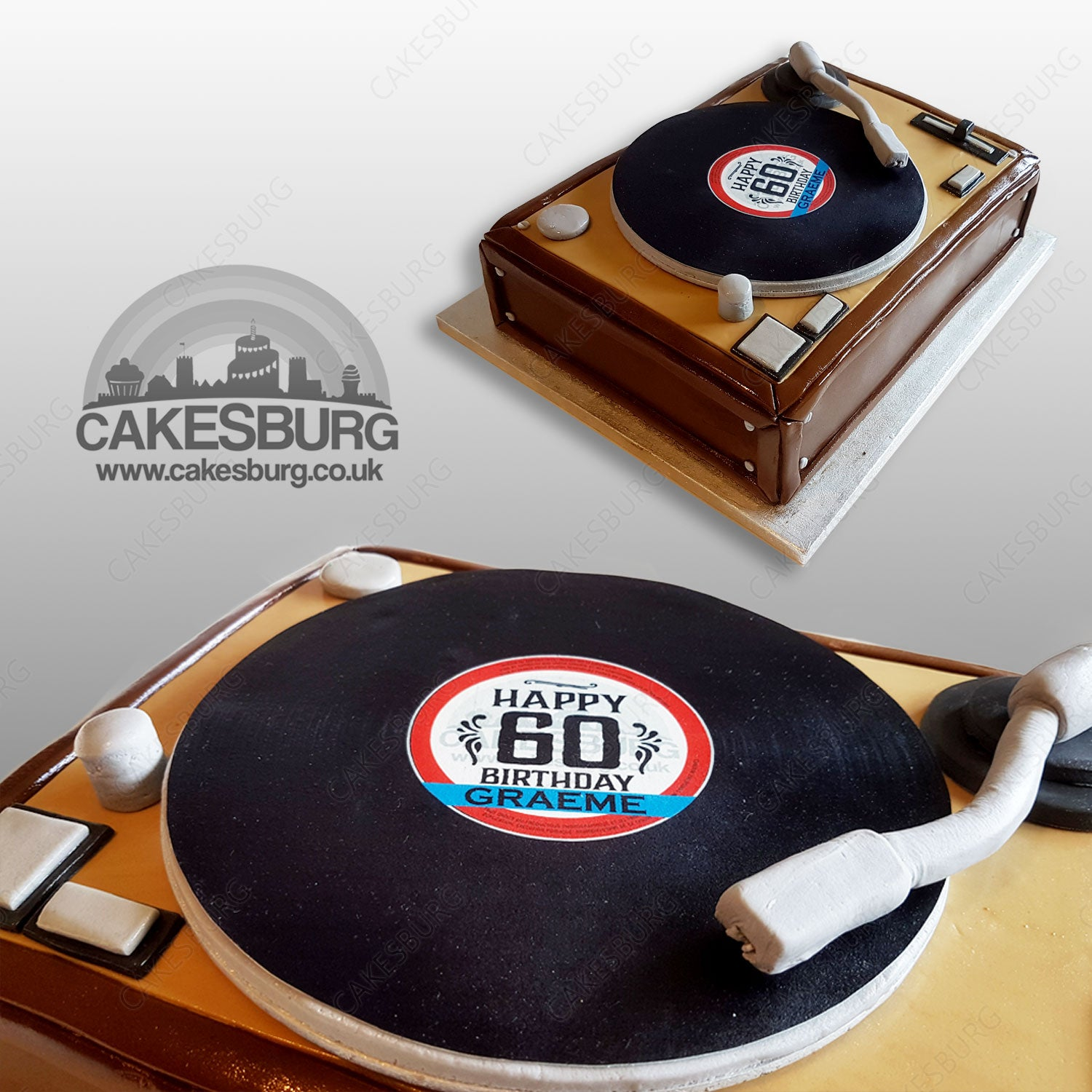 Peachy Audiophile Turntable Cake 1 Cakesburg Online Premium Cake Shop Birthday Cards Printable Benkemecafe Filternl