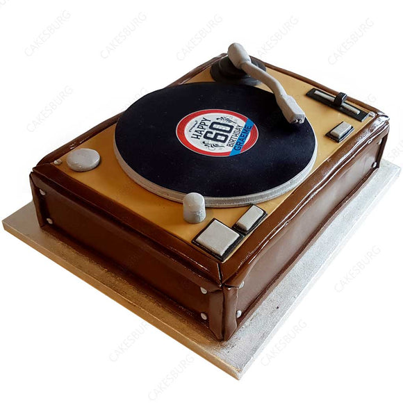 Audiophile Turntable Cake #1