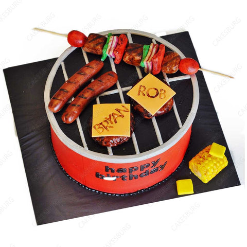 BBQ Barbecue Cake #1