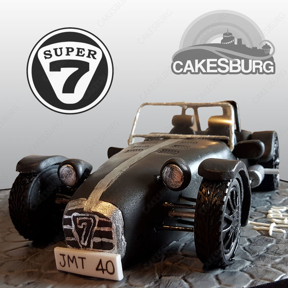 Caterham Super 7 (seven) Cake