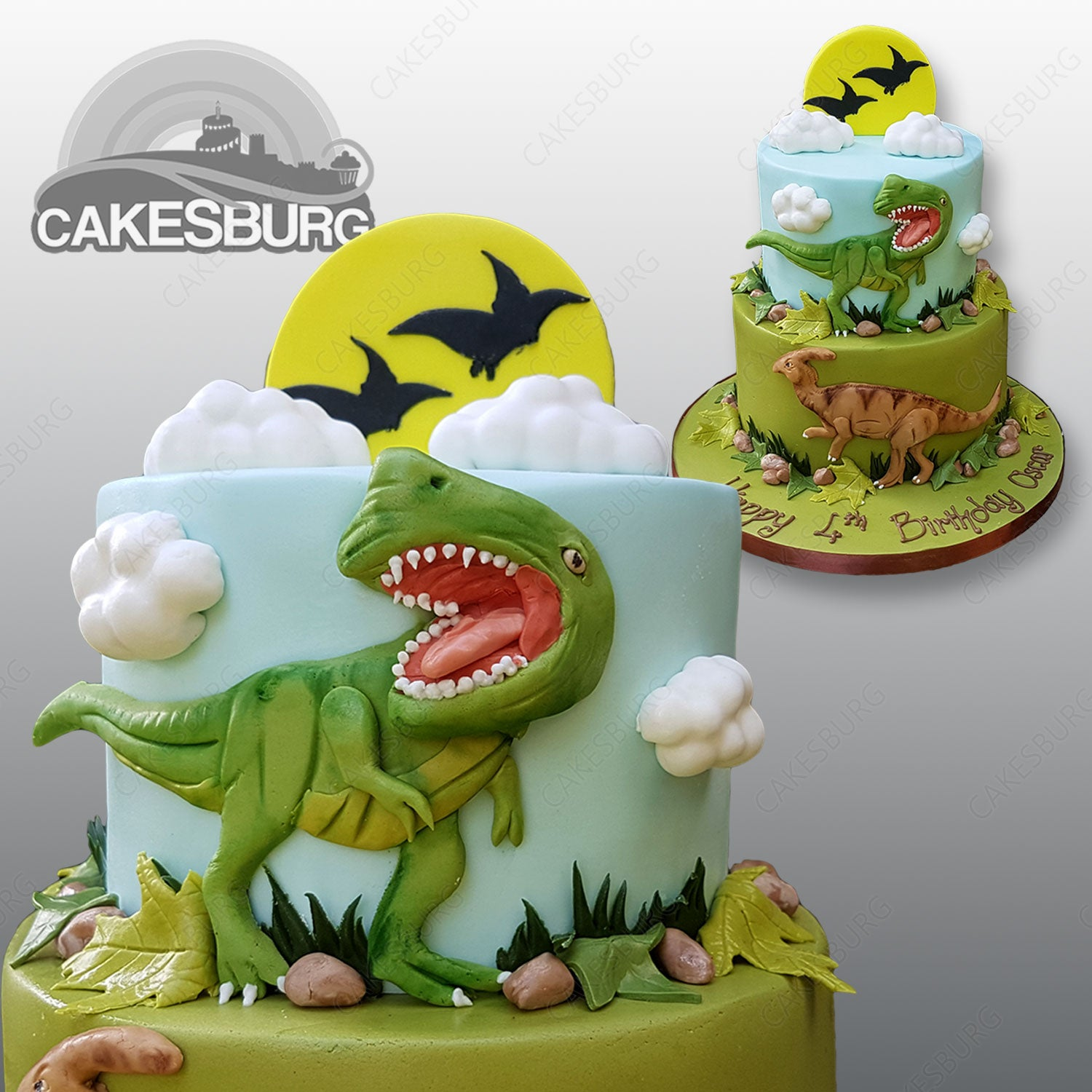 Astonishing T Rex Dinosaur Cake Cakesburg Online Premium Cake Shop Personalised Birthday Cards Paralily Jamesorg