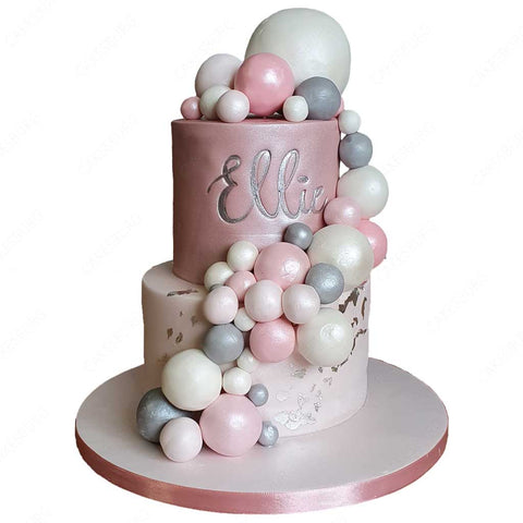 Elegant Bubble Cake