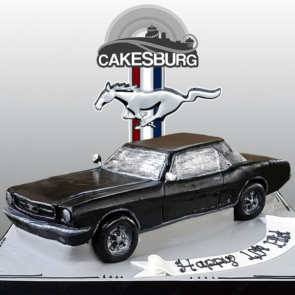 Ford Mustang 1967 Fast Back Cake
