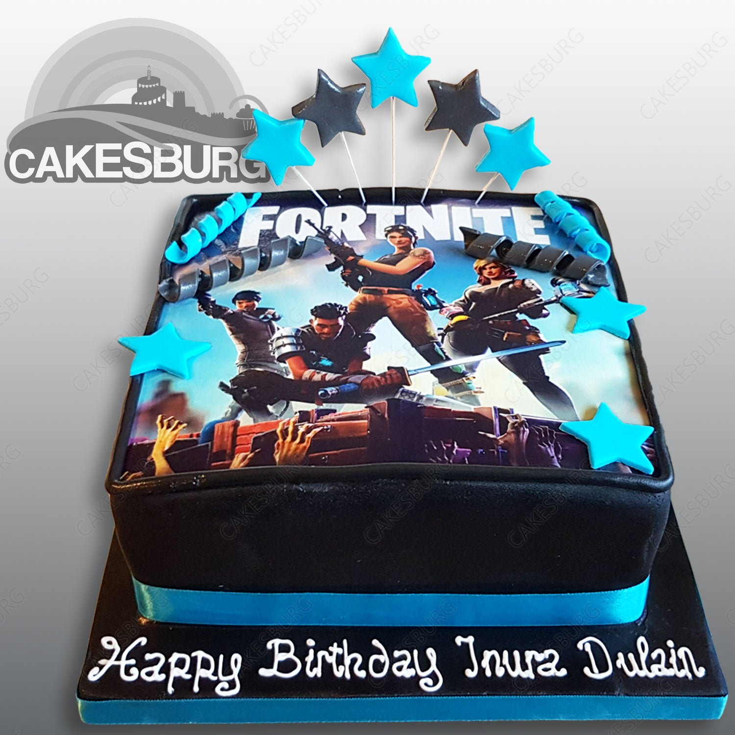 Fortnite Cake 1 Cakesburg Online Premium Cake Shop Guide to complete fortnite's dance in front of 10 different birthday cakes 2019 second anniversary birthday challenge. gbp