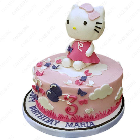 Hello Kitty Cake #2